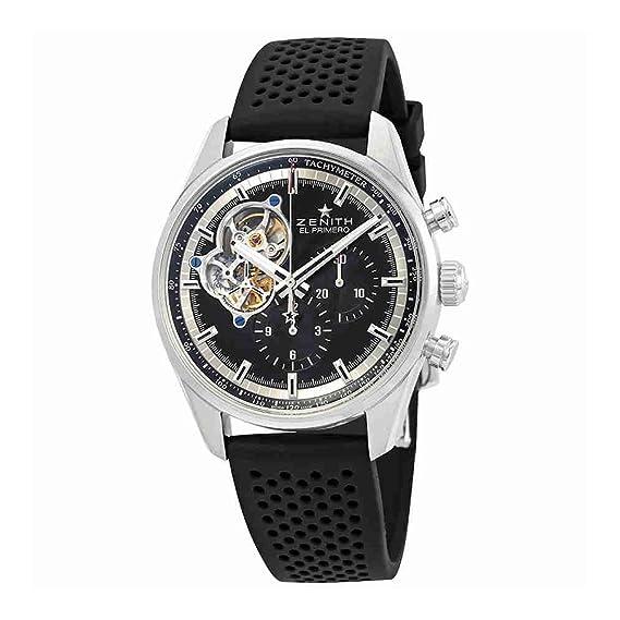 Zenith Chronomaster El Primero 03.2040.4061/21.R576 - Reloj para hombre: Amazon.es: Relojes