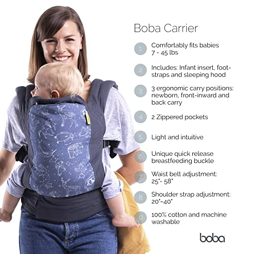 adcd2d16d55 Amazon.com   Boba Baby Carrier 4G