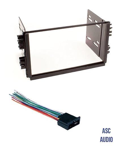 amazon com asc audio car stereo radio dash kit and wire harness forasc  audio car stereo