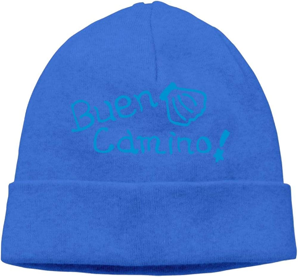 Poii Qon Beanies Hat Buen Camino Shell Knit Cap for Woman Man