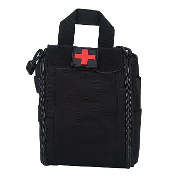 ec8a050723e Sac de Premiers Secours Tactique Trousse Molle d Urgence de Survie Médical  pour Voyages Camping