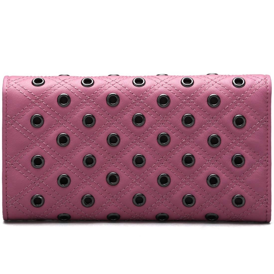 Mifusanahorn Damen Rivet Leather Wallet Seventy Seventy Seventy Percent Off Taschen Lange Handtasche (Farbe   schwarz) B07NL8XB69 Geldbrsen 60bcbb
