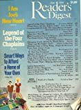mag: READERS DIGEST... June 1989... I Am Joe's Heart... Legend of the Four Chaplains...