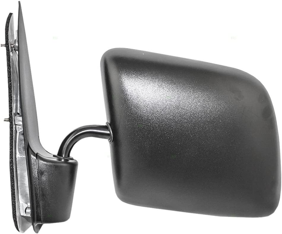 92-07 Ford E-Series Van Drivers Side View Manual Mirror Swing Lock Paddle Type