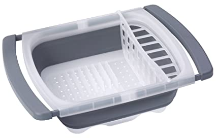 05a17fd3855f Amazon.com - Prepworks by Progressive Collapsible Over-The-Sink Dish ...