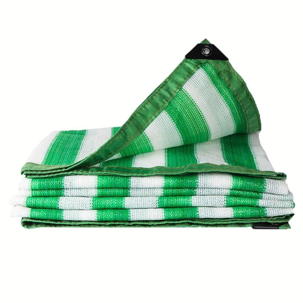 GGYMEI Filet De Camouflage Baisser La Température Cryptage Coin Renforcé Résistant à l'usure Coupe-Vent Toile D'ombre à Effet De Serre, 23 Sortes De Taille (Couleur   vert, Taille   8x10m) vert 8x10m