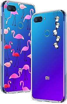 Yoowei [2-Pack] Funda para Xiaomi Mi 8 Lite, Transparente con ...