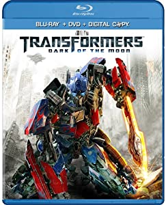 Cover Image for 'Transformers: Dark of the Moon (Two-Disc Blu-ray/DVD Combo + Digital Copy)'