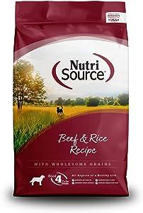 NutriSource Beef & Rice Dog Food 5 lb