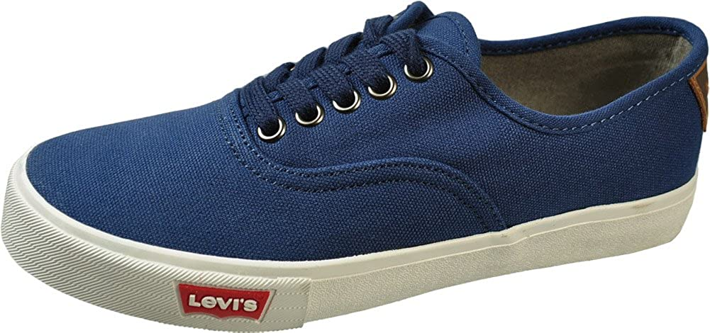 Levi's Jordy Little Kids/Youth Dark Royal Canvas Sneakers 545351DKR