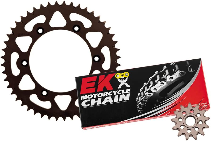 Outlaw Racing Dasks19Ek Aluminum Sprocket Kit w//Std Ek Chain 49-13