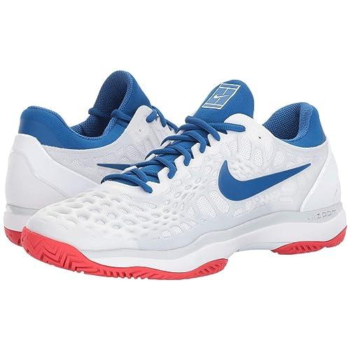 Nike NikeCourt Air Zoom Cage 3 HC 918193 114 UK 9 White