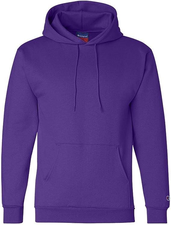 Champion EcoTM Fleece Pullover Men's Hoodie, 3XL-Purple