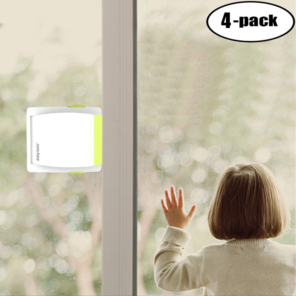 WOOCH Sliding Glass Door Locks for Child Safety, Baby Proof Closets