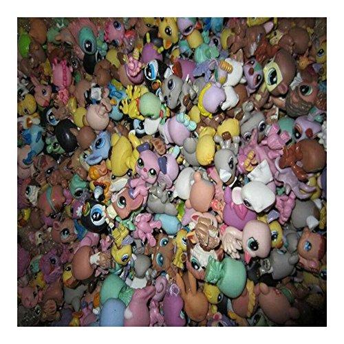 Lot 20pcs Littlest Pet Shop Mini Dog Loose Figures Random Child Toys Imitation (Littlest Pet Shop Mini Figures)
