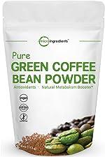 Pure Green Coffee Bean Extract, 4 Ounce, Green Coffee Bean Fat