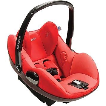 Amazon.com : Maxi-Cosi Prezi Infant Car Seat, Envious Red : Rear ...