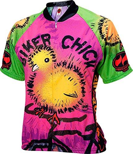 Biker Chick - Chick on a Bike Womens Cycling Jersey XL