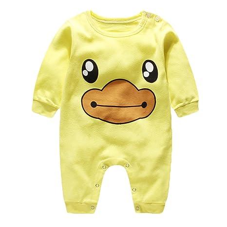 83c013e61c Navidad Bebés Mameluco ropa de dormir ropa - hibote Niños recién nacidos  Niñas de algodón pijamas