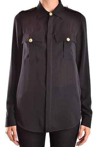 Dsquared2 Mujer S75DL0485S40249900 Negro Seda Camisa