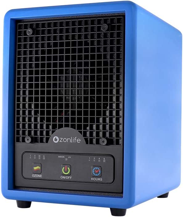 3 in 1 Anion HEPA Air Purifier, Ozone Generator Ionizer, Negative Ion Generator with HEPA and Carbon Filters, for Home Office Smoke Odor Remove