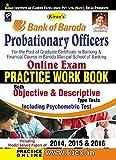 Bank of Baroda Probationary Officers Online Exam Practice Work Book - 1889