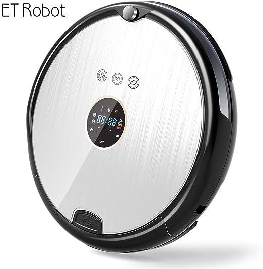 ET Robot Robot Aspirador Programable Ultrafino con Mopa(7.8cm de ...