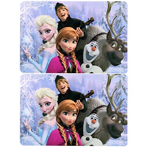 Disney Frozen Plastic Placemat Pack