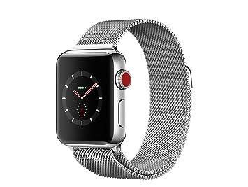 Apple Watch Series 3 OLED GPS (satélite) Móvil Acero Inoxidable Reloj Inteligente: Amazon.es: Electrónica