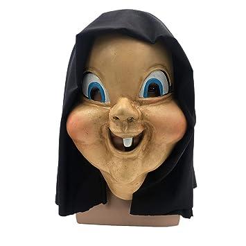 VUKUB Horrible Feliz Día De La Muerte Cabeza Máscara Halloween Decoración Disfraces Máscara Cosplay Full Head