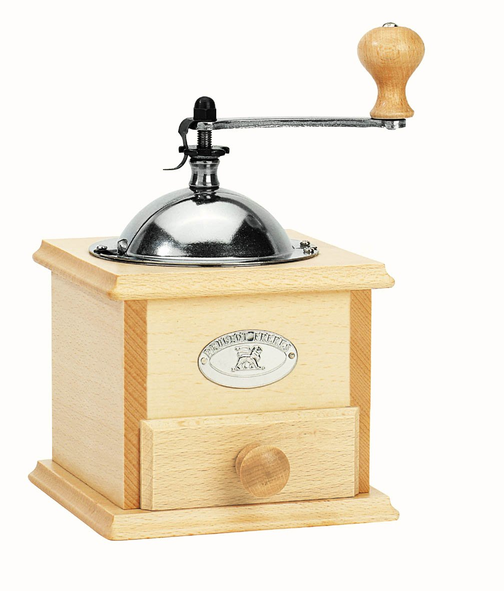 Peugeot 22778 Salvador Coffee Mill, 12.9 by 14.3 by 20-Inch, Natural Finish