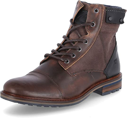 Bullboxer Homme Boots Monsieur Bottes /à Lacets