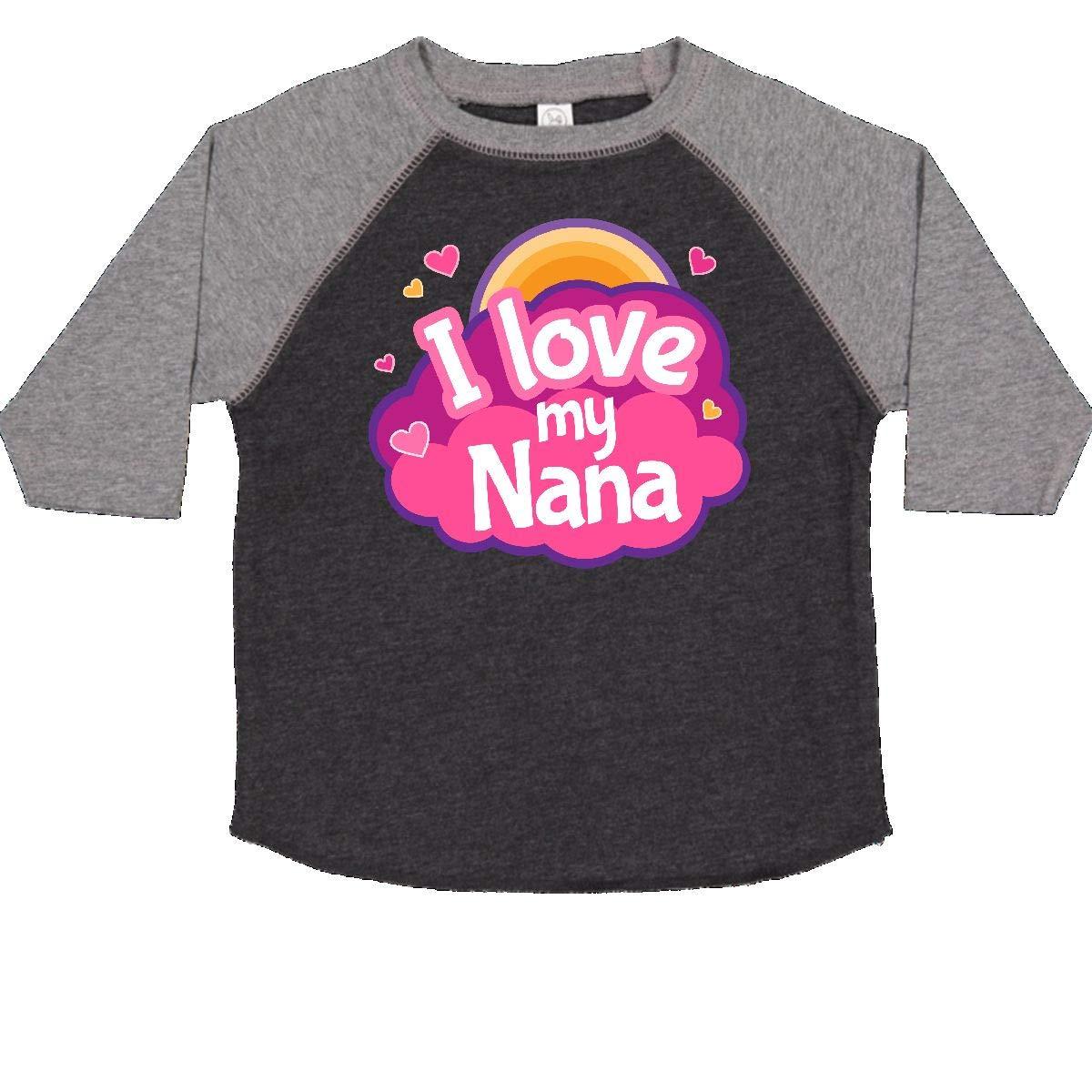 inktastic I Love My Nana Grandchild Toddler T-Shirt