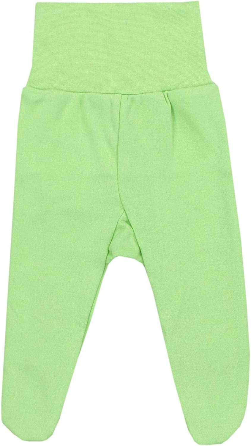 TupTam Baby Boys Trousers with Feet Pack of 3