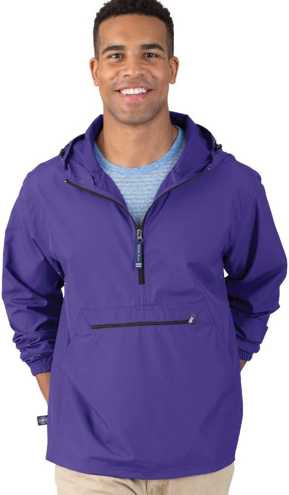 Charles River Apparel Pack-N-Go Wind & Water-Resistant Pullover