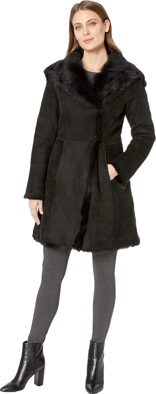 Ugg womens vanesa toscana shearling coat at amazon womens coats shop jpg  595x1500 Ugg shearling coat 4c4f32c84