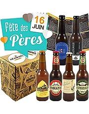 Coffret découverte Bières 6 Bières Artisanales Françaises - Fête des pères - 6 * 33cl