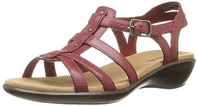 5c8677d09 Clarks Women s Roza Jaida Fashion Sandals Red Size  5.5 UK  Amazon ...
