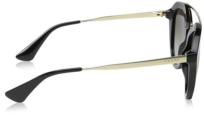 Amazon.com: Prada mujer Aviator anteojos de sol, talla única ...