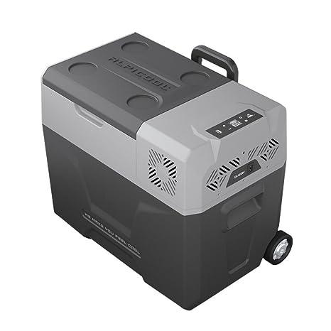 40L coche pequeño refrigerador de viaje / coche casa de doble uso / portátil al aire libre compresor de refrigeración mini ...