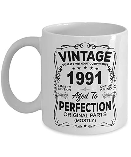 Vintage 1991 Coffee Mug