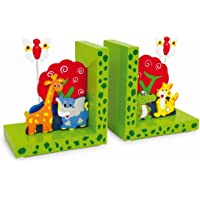 small foot company Soportalibros Animales Salvajes,Set de 2