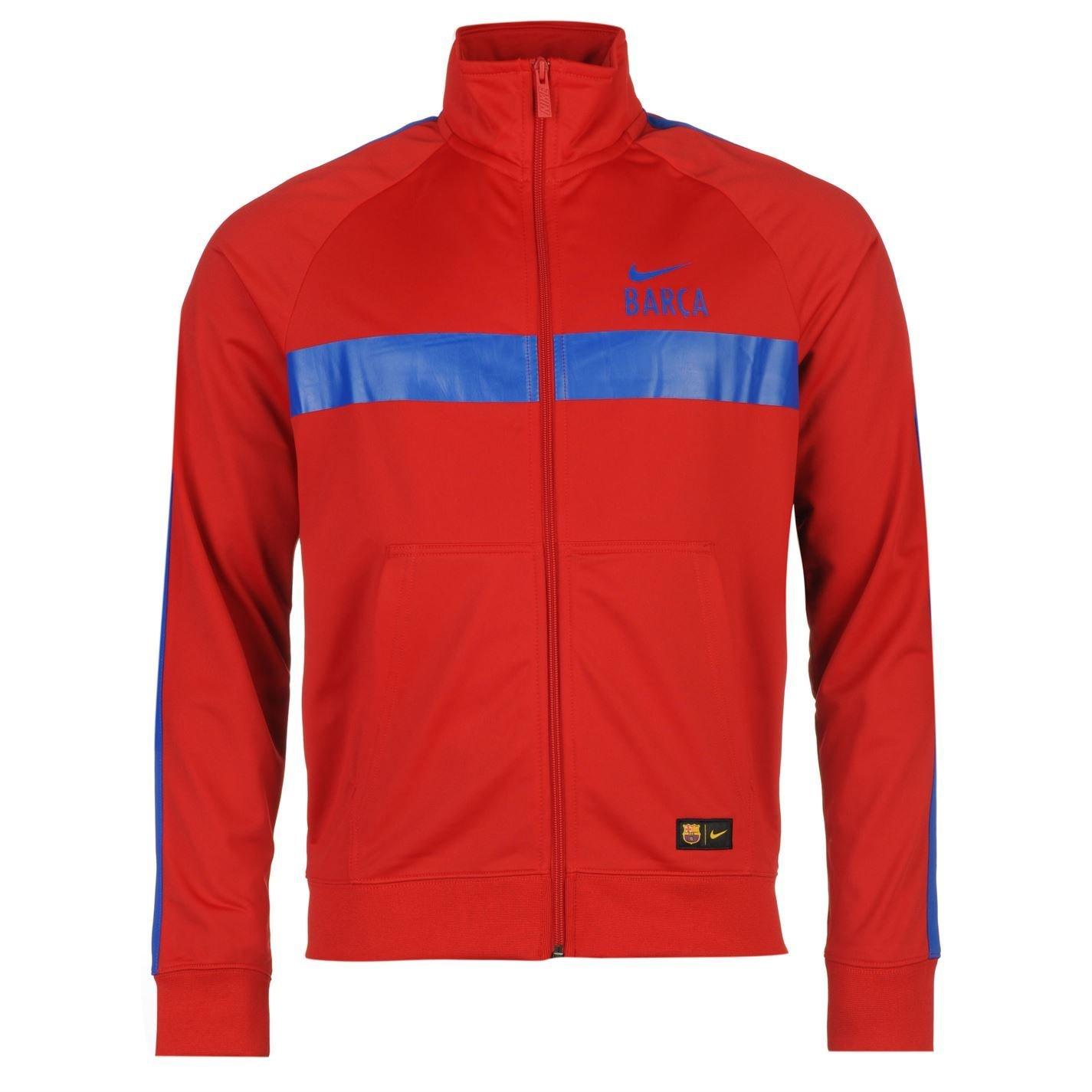 Nike Barcelona chaqueta de entrenamiento para hombre rojo/RYL ...