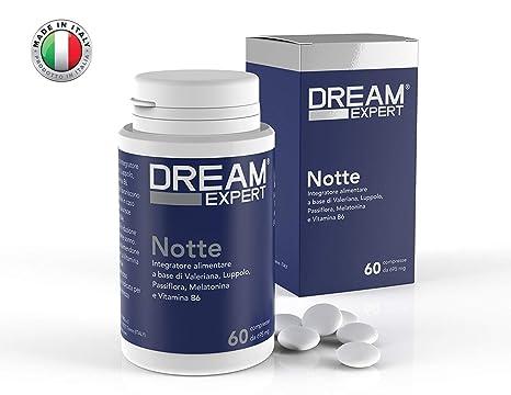 Dream Expert - 60 tabletas - Noche - pastillas para dormir naturales basadas en Melatonina (