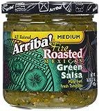 Arriba! Medium Green Salsa, 16 oz