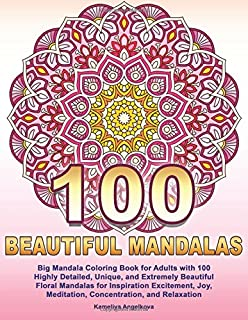 Adult Coloring Books Mandala Coloring Book For Stress Relief