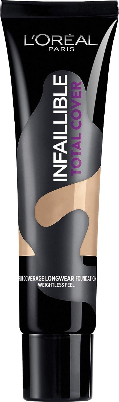 L'Oréal Paris Infaillible Total Cover Fondotinta Copertura Totale a Lunga Durata, 32 Ambré L' Oréal Paris A8980100