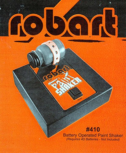 Robart Manufacturing Paint Shaker, Battery (Spray Paint Shaker)