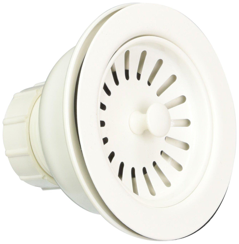 Jaclo 2807-SDB Adjustable Lutz Sink Strainer for Kitchen Sinks, Sedona Beige, Sedona Beige