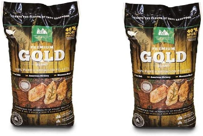 Green Mountain Premium Gold Blend Grilling Pellets Premium Texas Blend Pellets